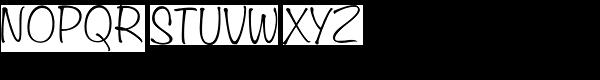 Filmotype Alice™ Font UPPERCASE
