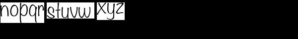 Filmotype Alice™ Font LOWERCASE