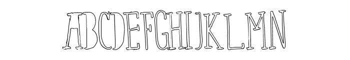 FixYou-Regular Font UPPERCASE