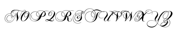 Flaemische Kanzleischrift Font UPPERCASE