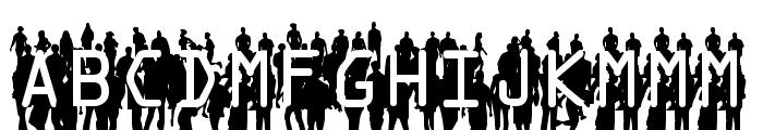 Flash Mob Demo Font UPPERCASE