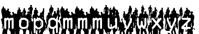 Flash Mob Demo Font LOWERCASE