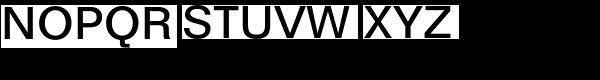 Folio Medium Font UPPERCASE