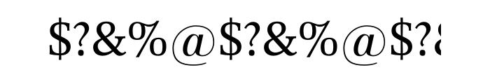 Forlane SB Roman OT Font OTHER CHARS