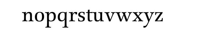 Forlane SB Roman OT Font LOWERCASE