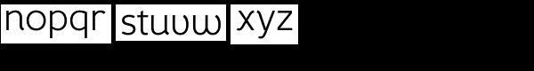Fox Grotesque Light Font LOWERCASE