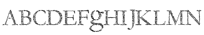 Fragile Decay Font UPPERCASE