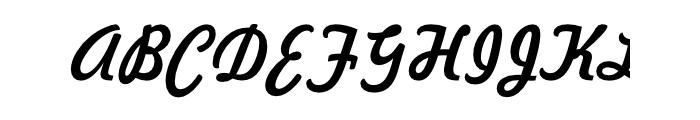 Freehand 521 Regular OT Font UPPERCASE