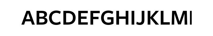 Freight Sans Pro Semibold OT Font UPPERCASE