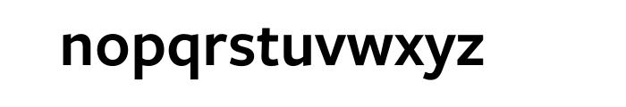 Freight Sans Pro Semibold OT Font LOWERCASE