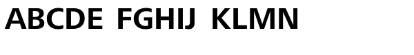 Frutiger Next Com Bold Font UPPERCASE