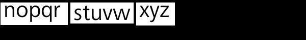 Frutiger Next Com Regular Font LOWERCASE