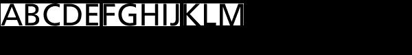 Frutiger Roman Font UPPERCASE