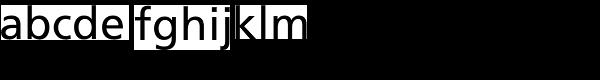 Frutiger Roman Font LOWERCASE