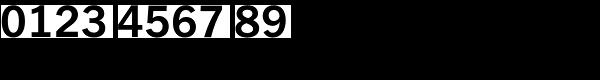 Fuller Sans DT-Bold Font OTHER CHARS