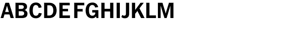Fuller Sans DT-Bold Font UPPERCASE