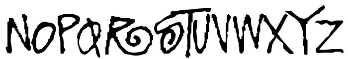 FunkyFresh Font LOWERCASE
