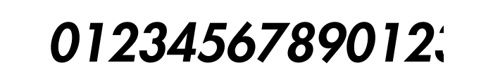Futura Pro Heavy Oblique Font
