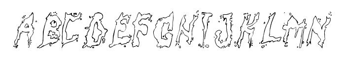 fuckfont Font UPPERCASE