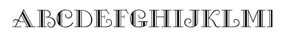 Gallia™ Font UPPERCASE