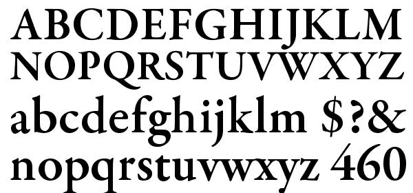 GaramondPremrPro-Smbd Font