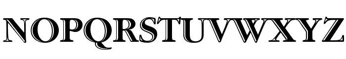 GaramondStd-HandtooledBold Font UPPERCASE