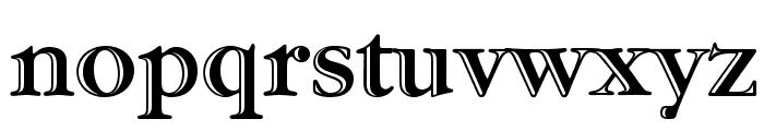 GaramondStd-HandtooledBold Font LOWERCASE