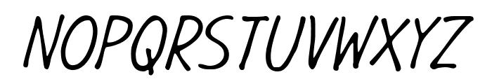GargleCdRg-Italic Font UPPERCASE