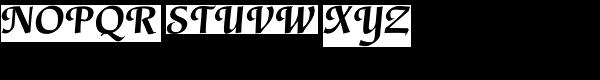 Gertrud-Bold Italic Font UPPERCASE