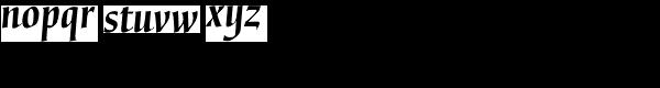 Gertrud-Bold Italic Font LOWERCASE
