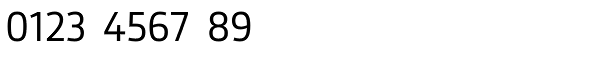 Gesta Semi Condensed Regular Font OTHER CHARS