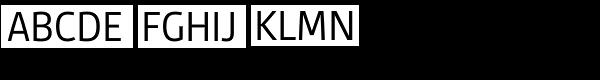 Gesta Semi Condensed Regular Font UPPERCASE