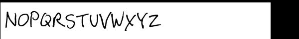GFY Hey Steve Regular Font UPPERCASE