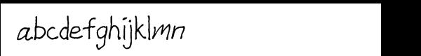 GFY Shue Font LOWERCASE