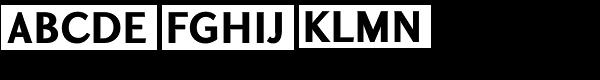 GHEA Koryun Bold Font UPPERCASE