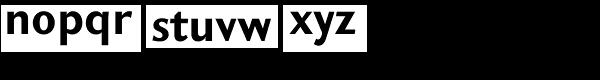 GHEA Koryun Bold Font LOWERCASE