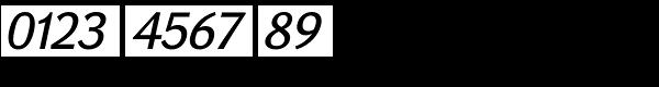 GHEA Koryun Medium Italic Font OTHER CHARS