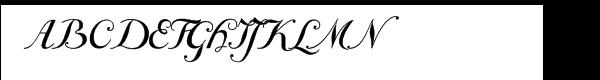 Giambattista One Font UPPERCASE