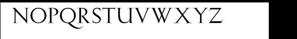 Gill™ Facia Pro Display Font UPPERCASE