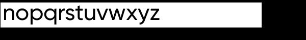 Gilroy Medium Font LOWERCASE