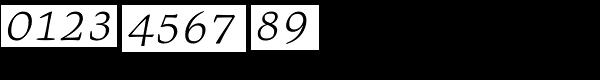 Givens Antiqua Pro Light Italic Font OTHER CHARS