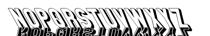 GM Exp Shadow Gravestone3 Font UPPERCASE