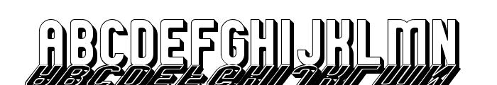 GM Exp Shadow Gravestone Font UPPERCASE
