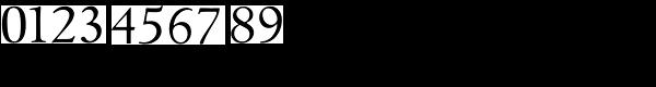 Goudita TS-Regular Font OTHER CHARS