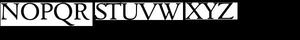 Goudita TS-Regular Font UPPERCASE
