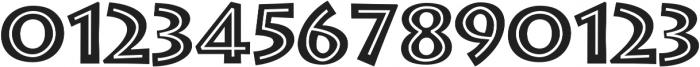 Greek Diner Inline Regular otf (400) Font OTHER CHARS
