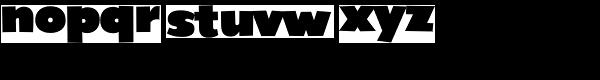 Grenadine MVB-Ultra Font LOWERCASE