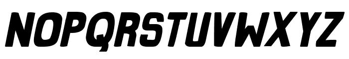 Grind Zero Bold Italic Font LOWERCASE