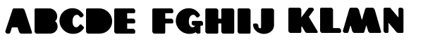 Grippo Black Font UPPERCASE
