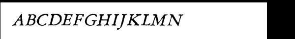 Grit Primer™ Italic Font UPPERCASE